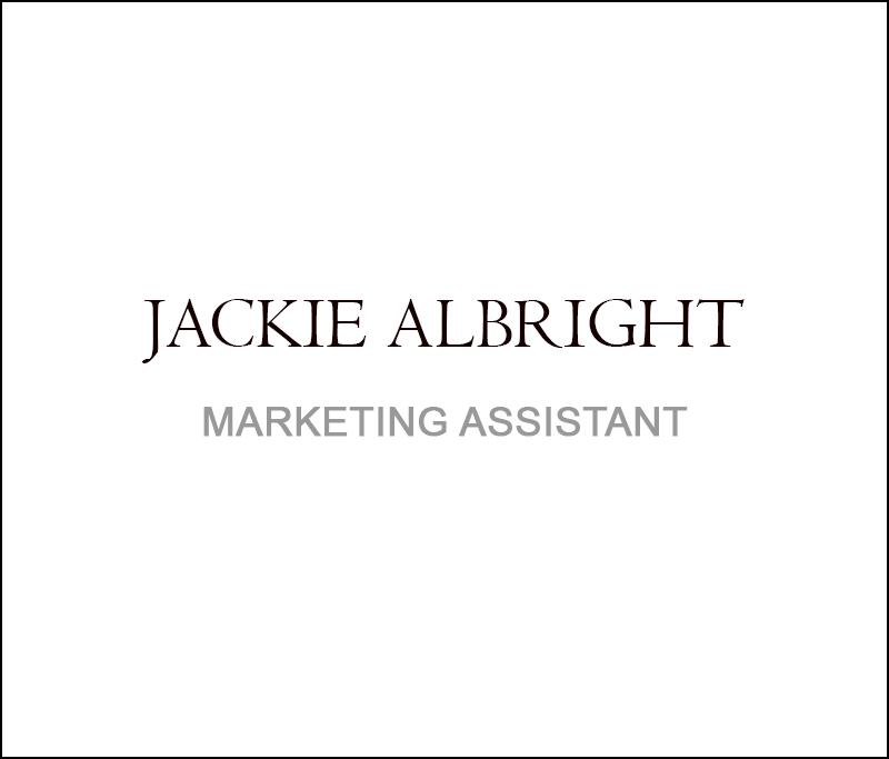Jackie Albright